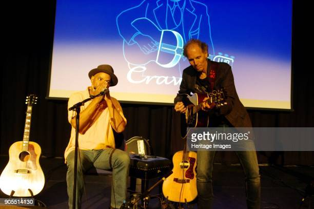 Guy Davis and Brooks Williams Hawth Crawley West SussexNovember 14 2016 Artist Brian O'Connor