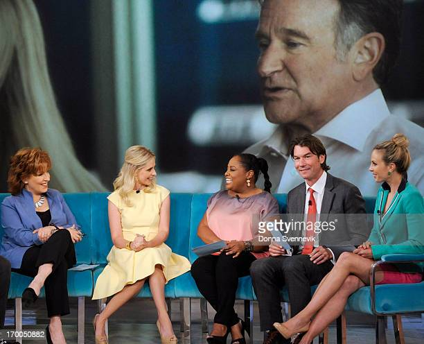 THE VIEW Guy Day Friday guest cohost Jerry OConnell actress Sarah Michelle Gellar Linda Cardellini Grace Hightower The View airs MondayFriday on the...