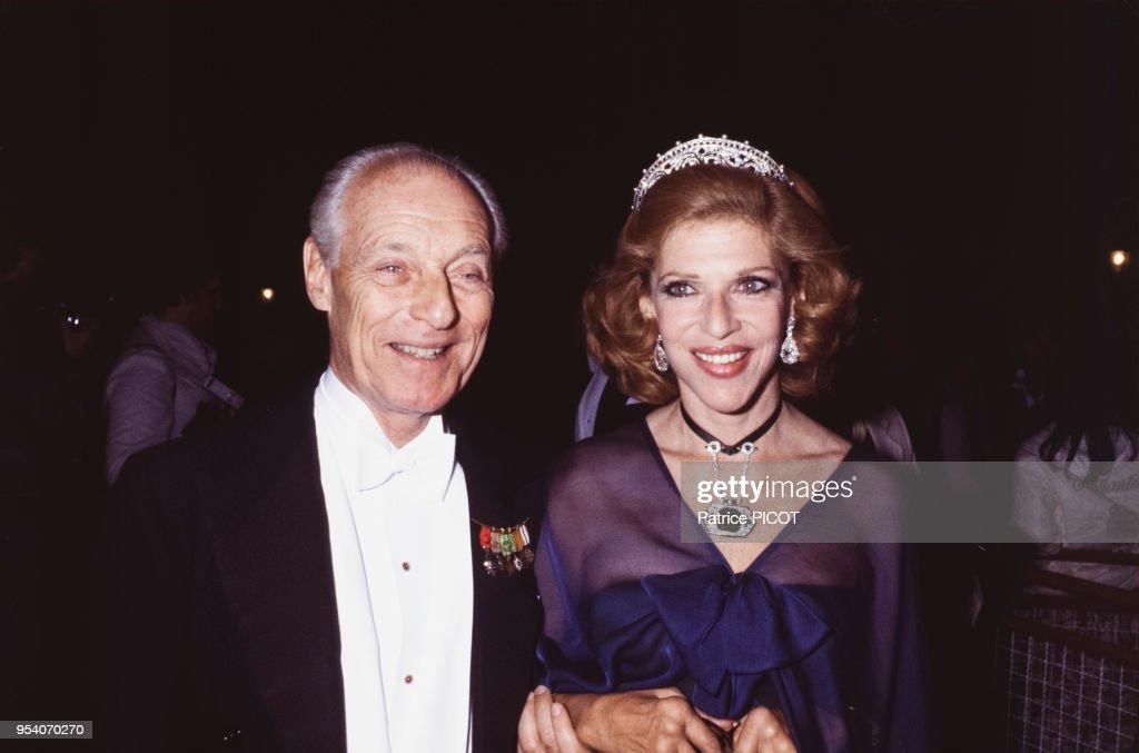 Guy de Rothschild et Marie-Hélène de Rothschild en 1978 : News Photo