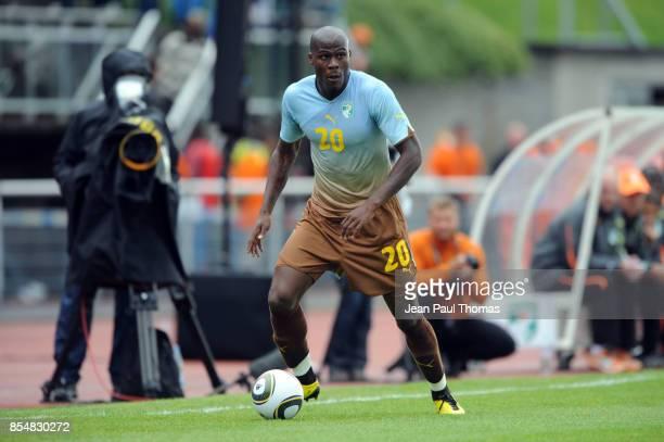 Guy DEMEL Paraguay / Cote d Ivoire Match Amical Preparation Coupe du Monde Evian