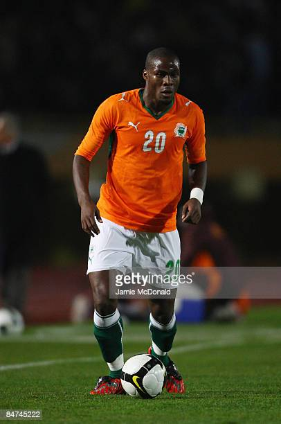 Guy Demel of the Ivory Coast runs with the ball during the International Friendly match between Turkey and the Ivory Coast at the Izmir Ataturk...