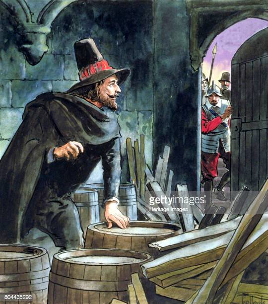 Guy Fawkes caught in the act of preparing the Gunpowder Plot 1605 Fawkes was an English conspirator who attempted to blow up the Houses of Parliament...