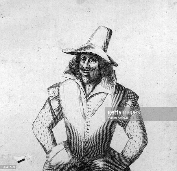 Guy Fawkes English conspirator in the gunpowder plot to destroy the Houses of Parliament circa 1606