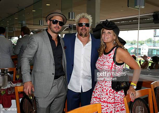 Guy Fieri attends the 141st Kentucky Derby at Churchill Downs on May 2 2015 in Louisville Kentucky