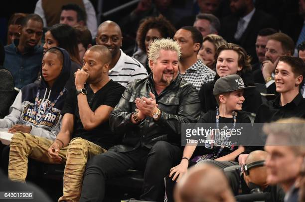 Guy Fieri attends the 66th NBA AllStar Game at Smoothie King Center on February 19 2017 in New Orleans Louisiana