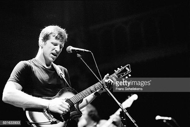 Guy Forsyth, guitar and vocals, performs at the Paradiso on January 28th 1999 in Amsterdam, Netherlands.
