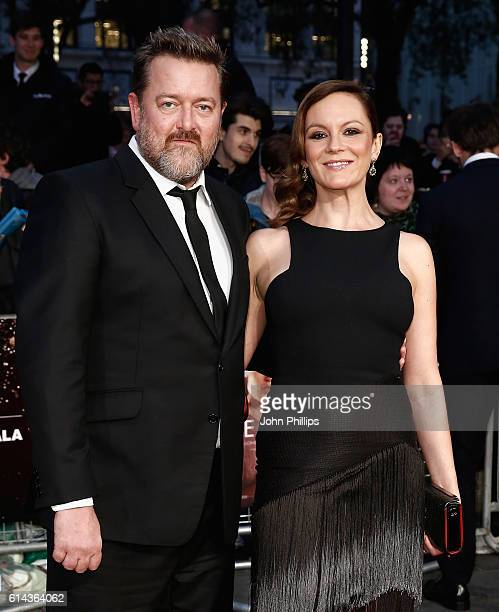 Guy Garvey and actress Rachael Stirling attend 'Their Finest' Mayor's Centrepiece Gala screening during the 60th BFI London Film Festival at Odeon...