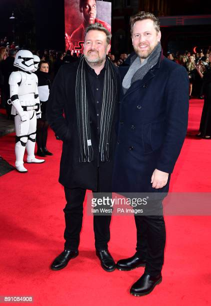 Guy Garvey and Marcus Garvey attending the european premiere of Star Wars The Last Jedi held at The Royal Albert Hall London PRESS ASSOCIATION Photo...