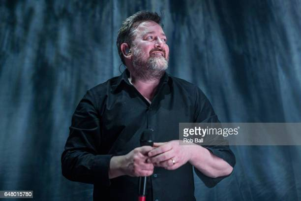 Guy Garvey from Elbow Perform At The Hammersmith Apollo on March 4 2017 in London United Kingdom