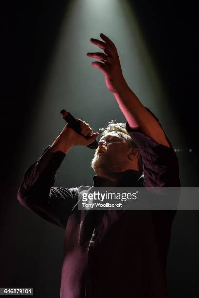 Guy Garvey of Elbow performs at O2 Academy Birmingham on March 1 2017 in Birmingham England