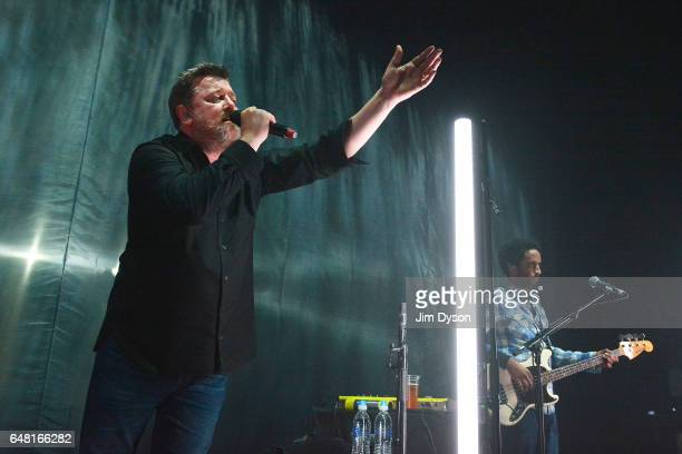 Guy Garvey of Elbow performs live on stage at the Hammersmith Apollo on March 4 2017 in London United Kingdom