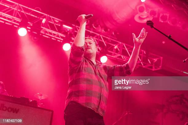 Guy Garvey of Elbow performs live on stage during a concert at the Huxleys Neue Welt on November 14, 2019 in Berlin, Germany.