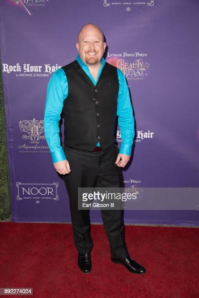Guy Griffithe attends the Lythgoe Family Pantos Opening Night Performance Of 'Beauty And The BeastA Christmas Rose' at Pasadena Civic Auditorium on...