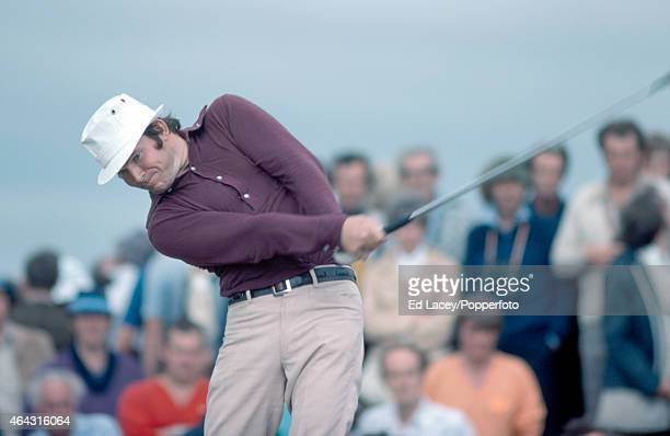 Guy Hunt of Great Britain in action during the British Open Golf Championship at the Royal Birkdale Golf Club in Southport on 8th July 1976 Photo by...