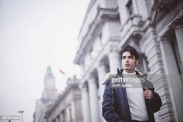 Guy in the city