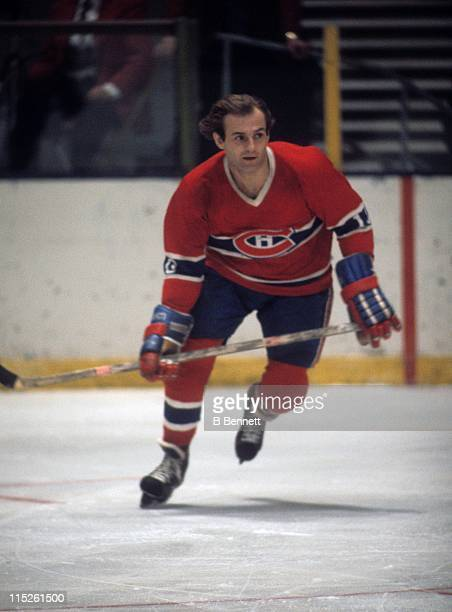 Guy Lafleur of the Montreal Canadiens skates on the ice during an NHL game circa 1978