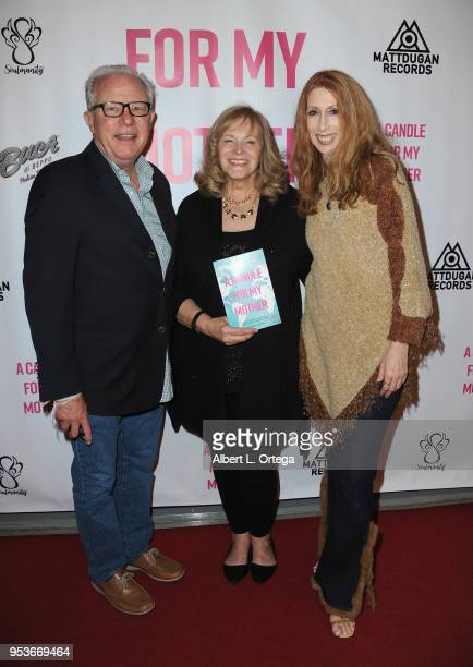 Guy Langvardt Pamela L Newton and Donna Loyd arrive for a luncheon in honor of Mother's Day for the release of Pamela L Newton's 'A Candle For My...