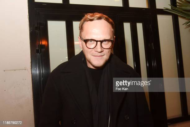 Guy Laroche designer Richard Rene attends Looking for Oum Kulthum Shirin Neshat  photo Exhibtion Preview hosted by Noirmont Art Production at Galerie...