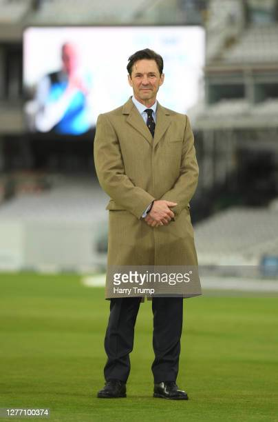 Guy Lavender, Chief Executive of the MCC looks on during Day Five of the Bob Willis Trophy Final match between Somerset and Essex at Lord's Cricket...