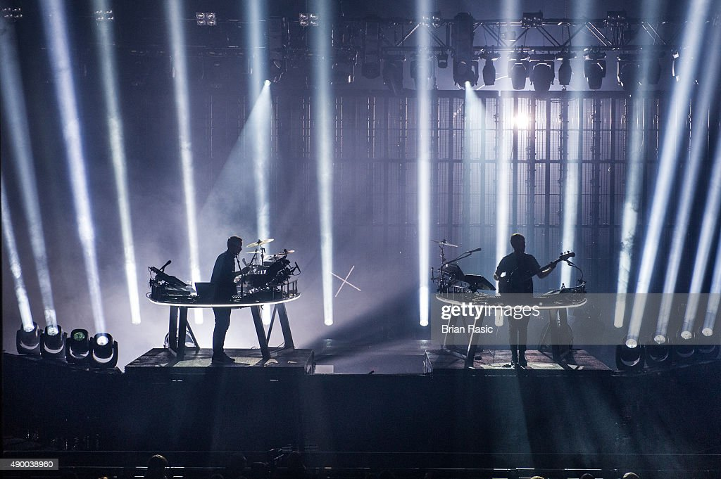 Guy Lawrence and Howard Lawrence of Disclosure perform during the Apple Music Festival 2015 at The Roundhouse on September 25, 2015 in London, England.