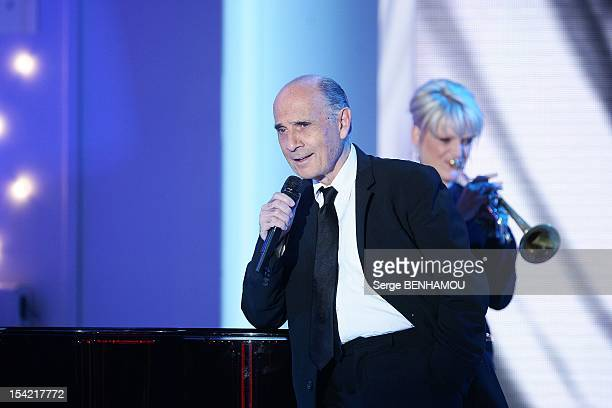 Guy Marchand attends Vivement Dimanche Tv show on October 10, 2012 in Paris, France.