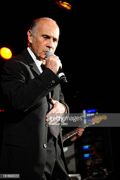 Guy Marchand performs live at Le Petit Journal Montparnasse on May 17, 2011 in Paris, France.