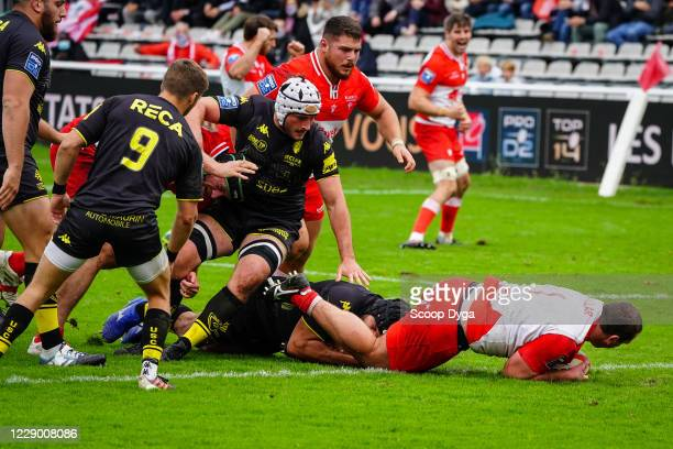 Guy MILLAR of Biarritz Olympique during the Pro D2 match between Biarritz and Carcassonne on October 11 2020 in Biarritz France