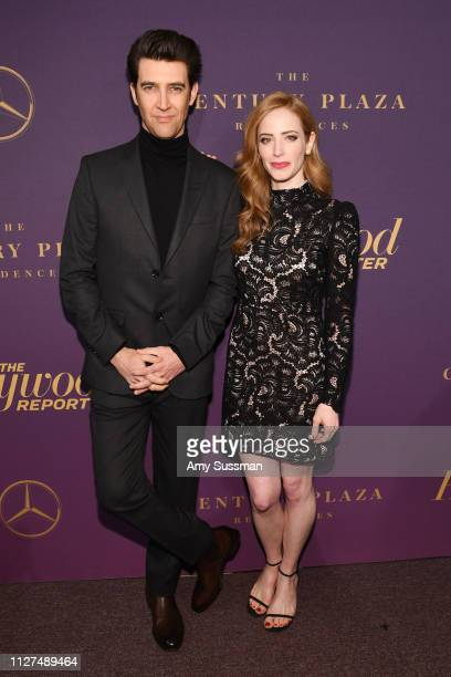 Guy Nattiv and Jaime Ray Newman attend The Hollywood Reporter 2019 Oscar Nominee Party at CUT on February 04 2019 in Beverly Hills California