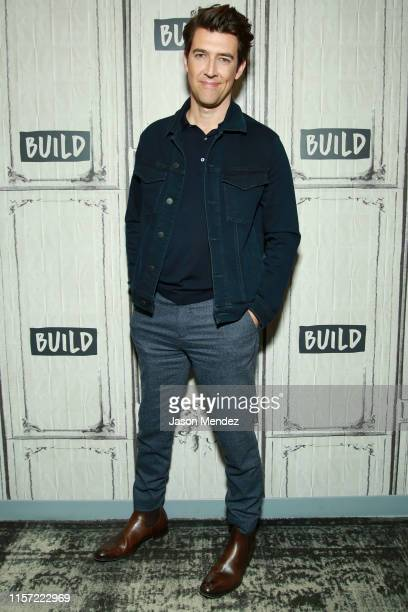 Guy Nattiv at BUILD Studio on July 22 2019 in New York City