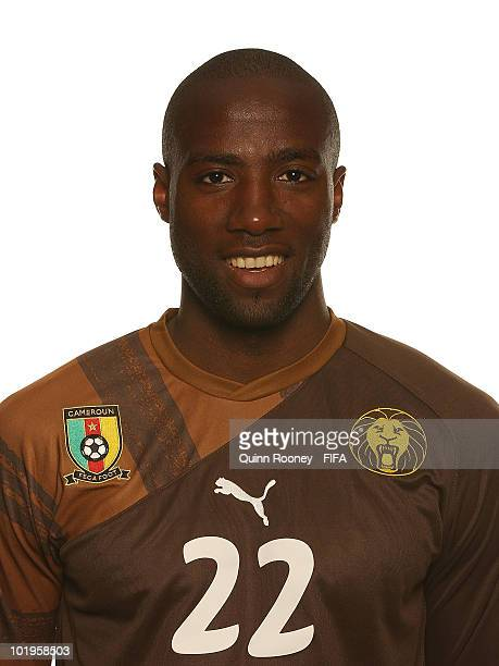 Guy Ndy of Cameroon poses during the official FIFA World Cup 2010 portrait session on June 10 2010 in Durban South Africa