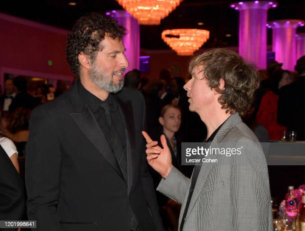 Guy Oseary and Beck attend the PreGRAMMY Gala and GRAMMY Salute to Industry Icons Honoring Sean Diddy Combs on January 25 2020 in Beverly Hills...
