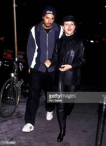Guy Oseary and Debi Mazar during Cast Crew Party for Saturday Night Live at Pre Fix Restaurant in New York City New York United States