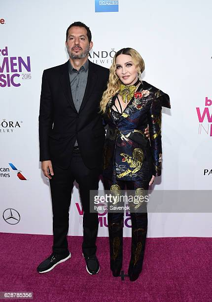 Guy Oseary and Madonna attend Billboard Women In Music 2016 Airing December 12th On Lifetime at Pier 36 on December 9 2016 in New York City