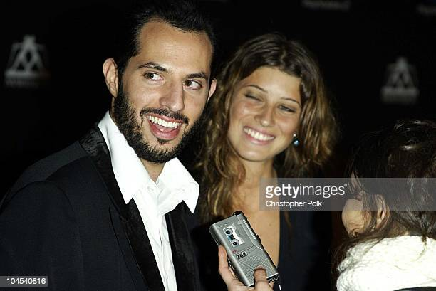 Guy Oseary and Michelle Alves during PlayStation2 Guy Oseary's 30th Birthday Party in Beverly Hills California United States