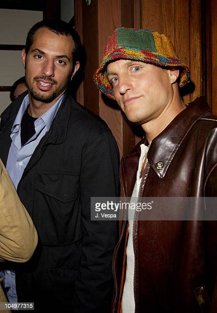 Guy Oseary and Woody Harrelson during Maxim Hot 100 Party Inside at Yamashiro in Hollywood California United States