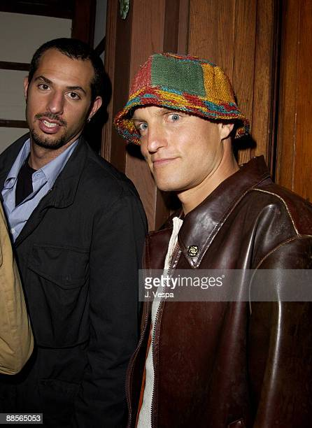 Guy Oseary and Woody Harrelson