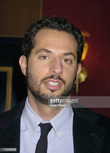 Guy Oseary during The Life Aquatic with Steve Zissou New York City Premiere Inside Arrivals at Ziegfield Theater in New York City New York United...