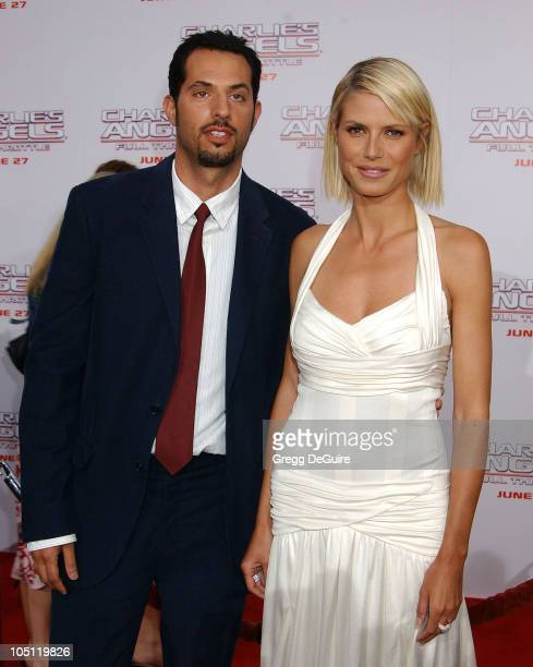 Guy Oseary Heidi Klum during Charlie's Angels 2 Full Throttle Premiere at Mann's Chinese Theater in Hollywood California United States