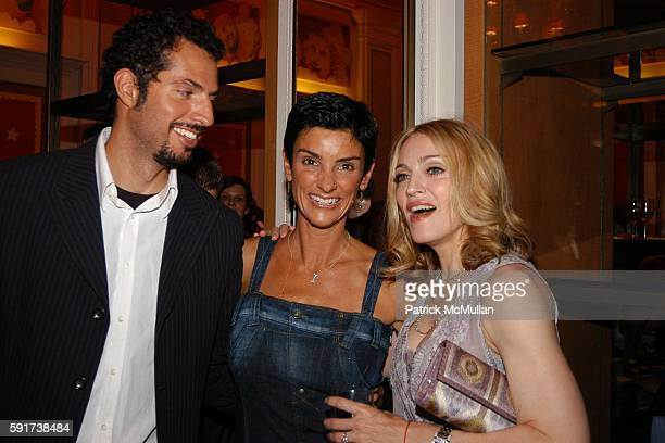 Guy Oseary Ingrid Casares and Madonna attend Madonna Childrens Book Lotsa de Casha published by Callaway Arts and Entertainment at Bergdorf Goodman...