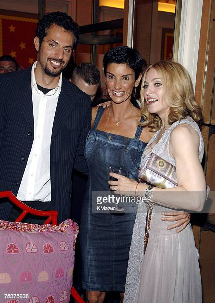 Guy Oseary Ingrid Casares and Madonna