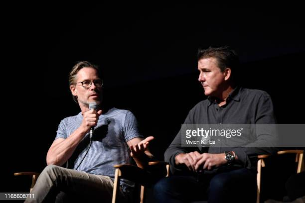 Guy Pearce and Dan Friedkin attend the Telluride Film Festival 2019 attend on September 1st 2019 in Telluride Colorado