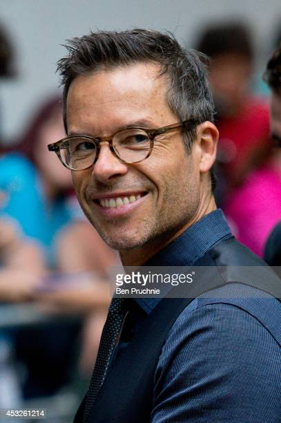 Guy Pearce attends a screening of The Rover at BFI Southbank on August 6 2014 in London England