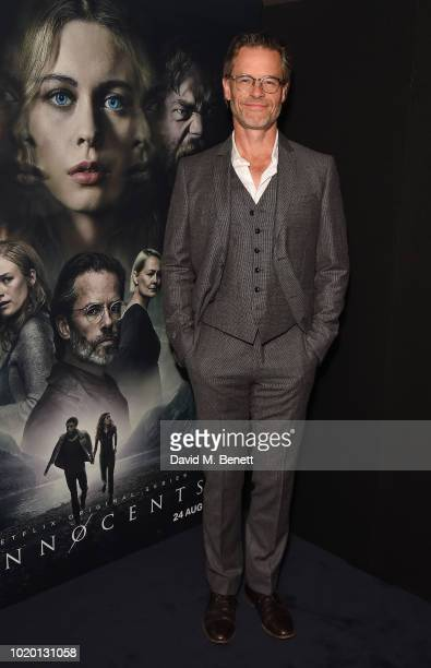 Guy Pearce attends a special screening of 'The Innocents' at The Curzon Mayfair on August 20 2018 in London England