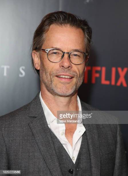 Guy Pearce attends a special screening of the Netflix show The Innocents at The Curzon Mayfair on August 20 2018 in London England