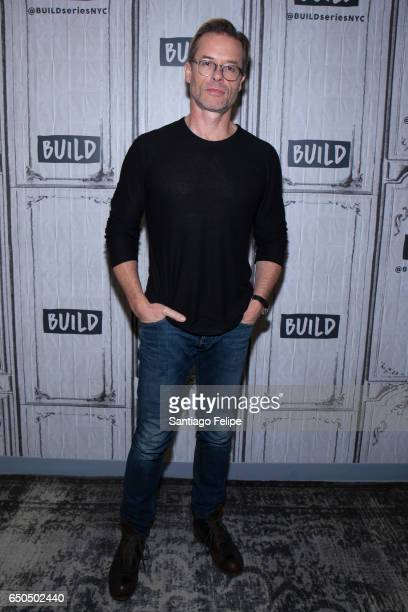 Guy Pearce attends Build Series to discuss Brimstone at Build Studio on March 9 2017 in New York City
