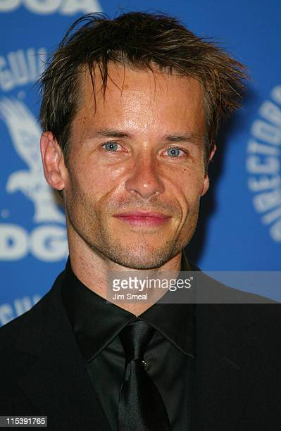 Guy Pearce during The Directors Guild of America 54th Annual Awards - Press Room at Century Plaza Hotel in Los Angeles, California, United States.