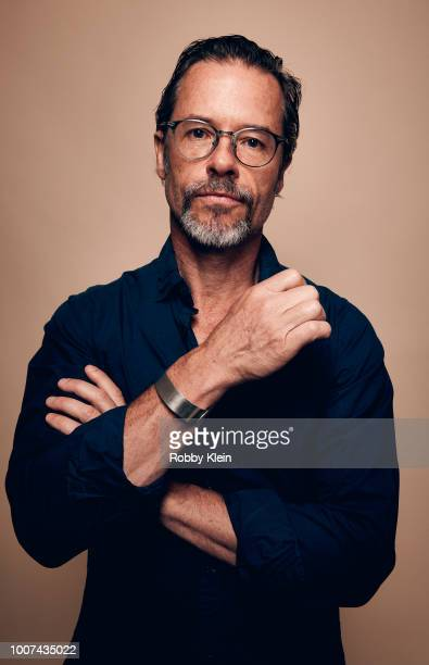 Guy Pearce of Netflix's 'The Innocents' poses for a portrait during the 2018 Summer Television Critics Association Press Tour at The Beverly Hilton...