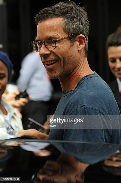 Guy Pearce pictured at the BBC on August 6 2014 in London England