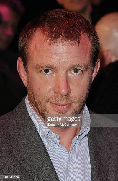 Guy Richie arrives at the European premiere of 'Due Date' at Empire Leicester Square on November 3 2010 in London England