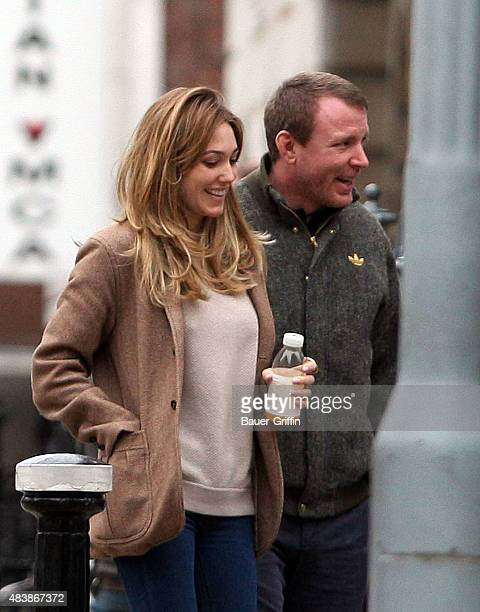 Guy Ritchie and Jacqui Ainsley are seen on February 25 2011 in London United Kingdom